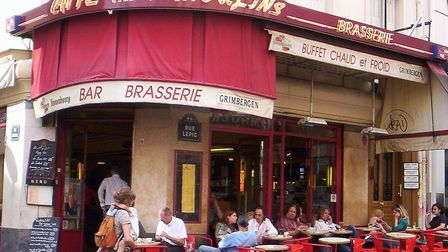 Cafe des Deux Moulins featured in the film Amelie. Pic: Rcsmit/CC BY-SA 3.0