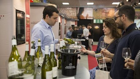 Sample food from around the world at the Foire de Dijon. Pic: Philippe Maupetit/Dijon Congrexpo