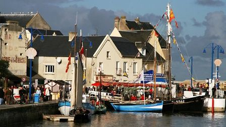 This picturesque port is the setting for Le Gout du Large food festival. Pic: OT Bayeux Intercom