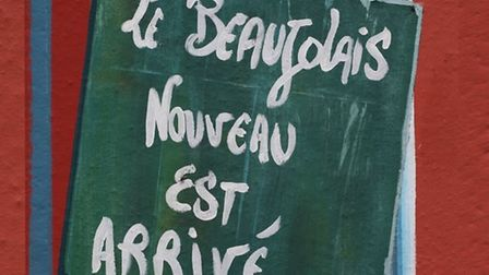 It's here! Celebrate Beaujolais Nouveau Day in authentic French style at Les Sarmentelles. Pic: Rico