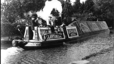 Michael Ward was part of a flyboat crew and is third from the right with his brother Charlie on his