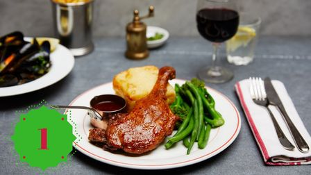 Win a Christmas meal for two at Cafe Rouge (c) Cafe Rouge