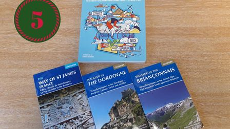Win a bundle of walking and cycling guidebooks