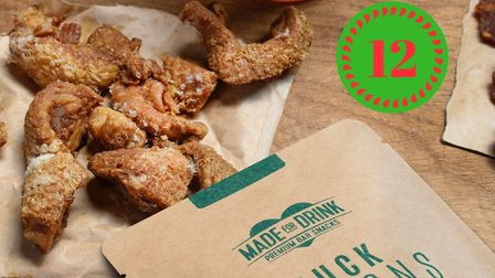 Win five packs of duck fritons (c) Made For Drink