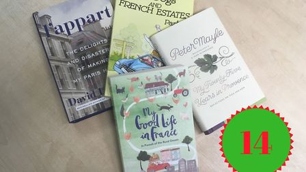 Win this bundle of books about expat life in France