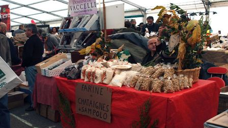 You can anything and everything chestnut-themed at the Fiera di a Castagna in Corsica. Pic: Pierre B