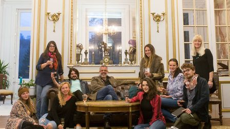 Ziggy Attias welcomes artists from around the world to Chateau d'Orquevaux © Gregory Clement