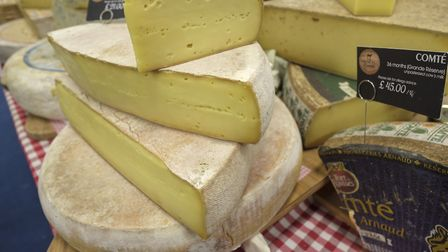 French cheese at The France Show