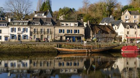 The town of Pont-Aven has long been a source of inspiration for artists © Scott Davis