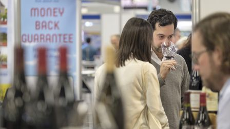 Enjoy wine tasting and food sampling at the France Show in January 2019. Pic: Ian Southerin