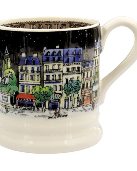 This dreamy mug will bring back memories of the City of Light
