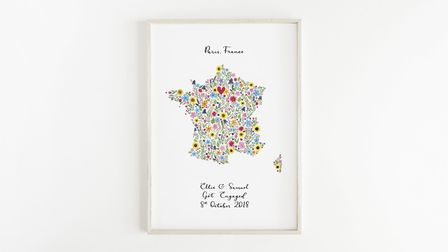 Bring some flower power to your home with this gorgeous print