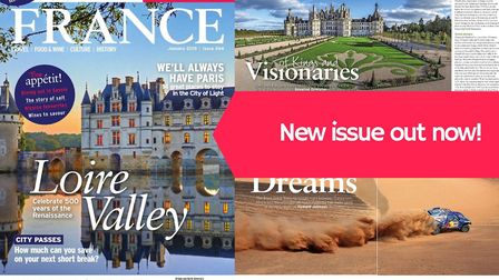 Don't forget to pick up your copy of the January issue of FRANCE Magazine, out now