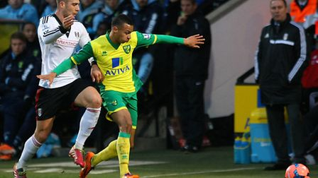 Norwich City midfielder Josh Murphy made the most of his FA Cup chance against Fulham. Picture by Pa