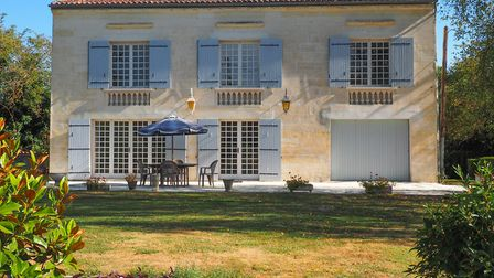 Grand house on the River Charente