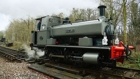 The Victory locomotive at Whitwell and Reepham Station. Picture: Ian Burt