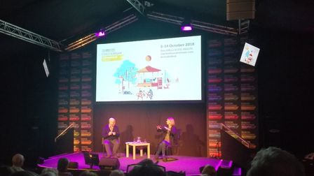 Kate Mosse was speaking at the Cheltenham Literature Festival in October 2018
