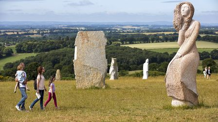 Visit of the Valley of Saints in Brittany, Pic: DERENNES Yannick