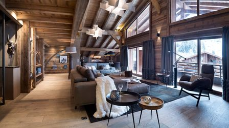 Le Cristal de Jade, on the market with MGM, is located in Chamonix