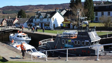 The Caledonian Canal (photo: Martin Ludgate)