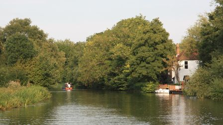 A wooded length above Cardington Lock on the quieter upper reaches of the Great Ouse (photo: Martin