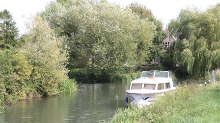 A secluded mooring near the head of Burwell Lode, one of a set of channels thought to date from Roma