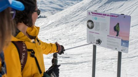 Give ski touring a try on the La Camille trail in Val Thorens image T.Loubere OT Val Thorens