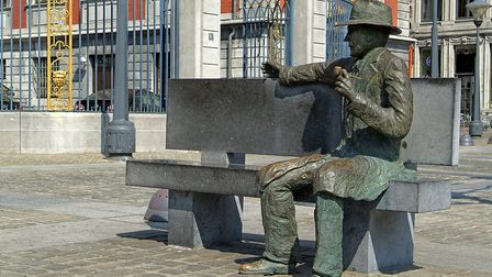 Simenon drew inspiration from Liege where there is now a walking tour. Pic: Liege Tourisme
