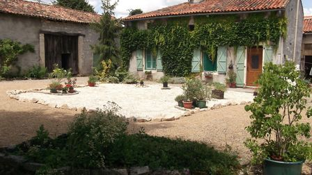 A pretty detached house in a village in Charente