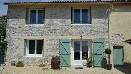 A cute two-bedroom village house in Charente