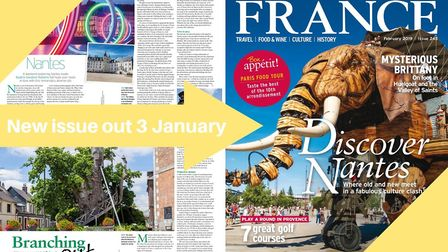 Don't miss the January issue of FRANCE Magazine, out 3 January
