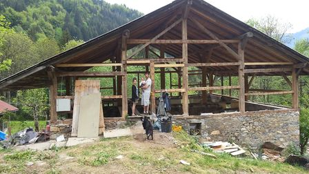 Al and Kat have worked with a local owner to create a bespoke chalet