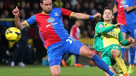 Norwich City midfielder Wes Hoolahan was a notable absentee against Fulham. Picture by Paul Chestert