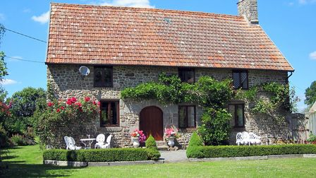 This stunning farmhouse in Normandy is also listed with Holiday France Direct. Pic: Brittany Ferries