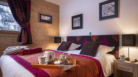 Apartments in Les Fermes dEugenie range from two to four bedrooms