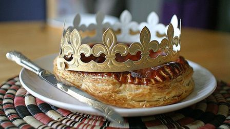 A Galette des Rois makes a striking addition to any table. Pic: LeSteph CC BY SA 2.0