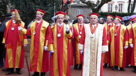 Watch the great parade to celebrate Saint Vincent at Vezelay. Pic: Bourgogne Wine Board