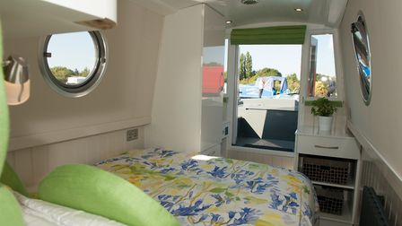 The bed extends to 4ft 6in and is fitted with drawers (photo: Andy R Annable)