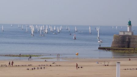 Les Sables d'Olonne plays host to lots of races but has plenty of charms on dry land too. Pic: Natha