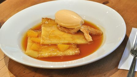 Delicious Crepes Suzette includes Grand Marnier and is flambeed by the chef. Pic: Ocdp/CCO
