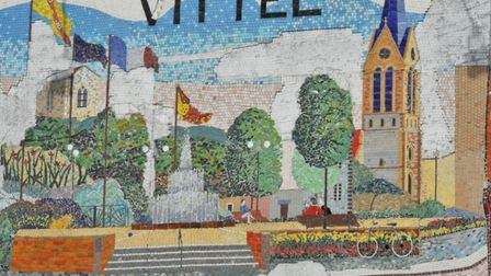 Vittel water is sourced from a fountain in the Vosges image Sandrine Alouf
