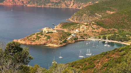 Gorgeous Girolata is hard to reach but worth the journey. Pic: Patrick Rouzet, CC BY SA 3.0