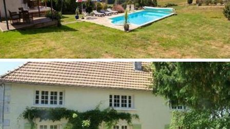 House with brilliant pool in Charente (leggettfrance.com)