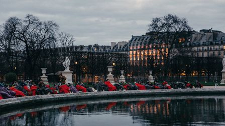 An unusual experience in the Jardin des Tuileries. Pic: Paris Face Cachee
