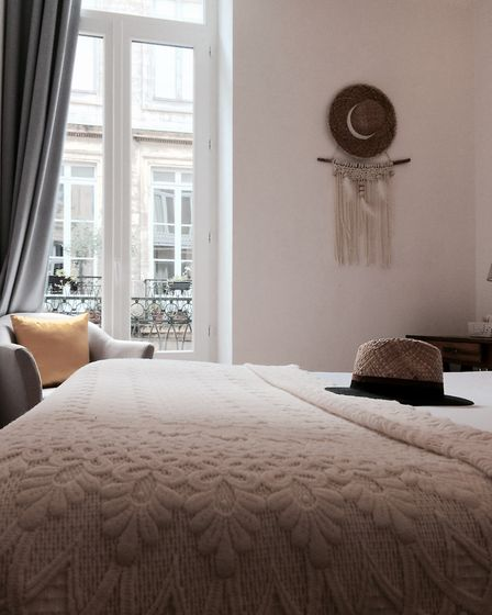 The Maison du Lierre is a peaceful oasis in the heart of Bordeaux