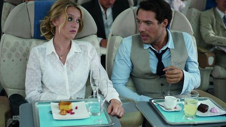 Love is in the air(plane) in Amour et Turbulences