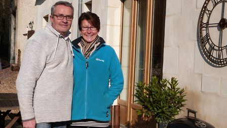 Trevor and Kay Thompson moved from Milton Keynes to Sarthe in Pays de la Loire