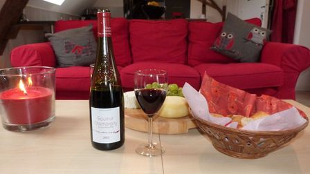 Gite guests enjoy a warm welcome at Le Moulin Volarie