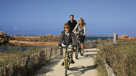The beaches of north France are within easy reach with a self-drive holiday with Brittany Ferries