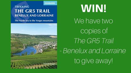 Enter our competition for your chance to win a copy of The GR5 Trail - Benelux and Lorraine
